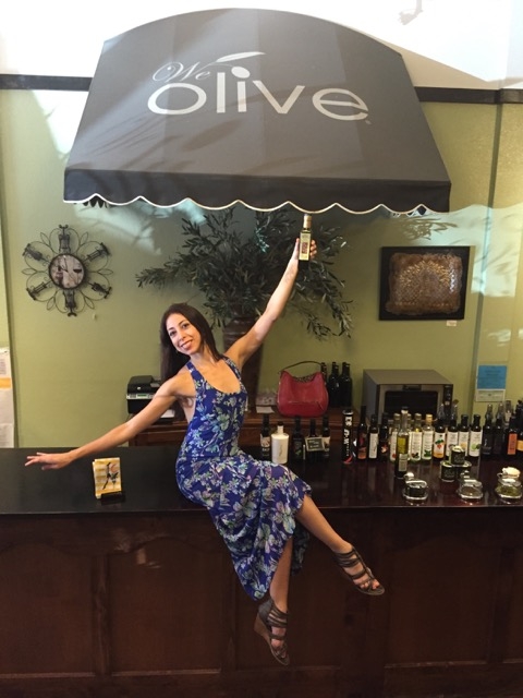 Dancer Rosselyn Ramirez at We Olive