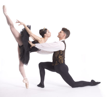 Black Swan Amanda Farris and Ray Tilton